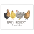 Chickens Birthday From All Card