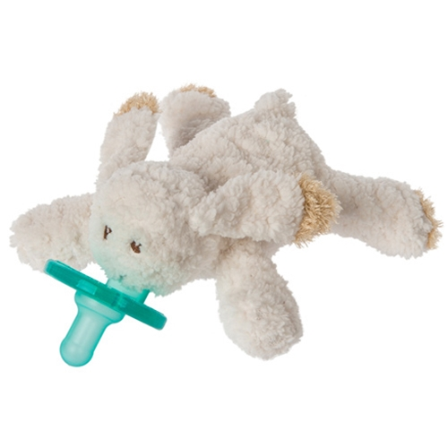 WubbaNub Oatmeal Bunny Infant Pacifier