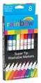 8 Rainbow Washable Markers