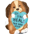 Sit, Stay, Heal Puppy Balloon