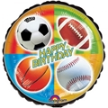 Happy Birthday Sports Balloon
