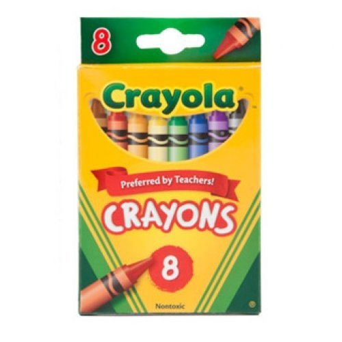 Crayola Crayons, package of 8