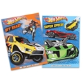 Hot Wheels Giant Coloring and Activity Book