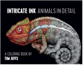 Intricate Animals Color Book