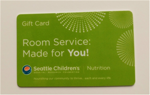 Room Service Made For You Gift Card $50