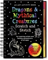Scratch and Sketch - Dragons and Mythical Creatures