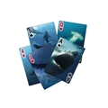 3D Shark Playing Cards