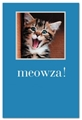 Meowza Excited Kitten Card