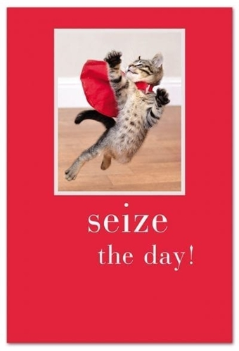 Seize the Day! (Birthday Card)