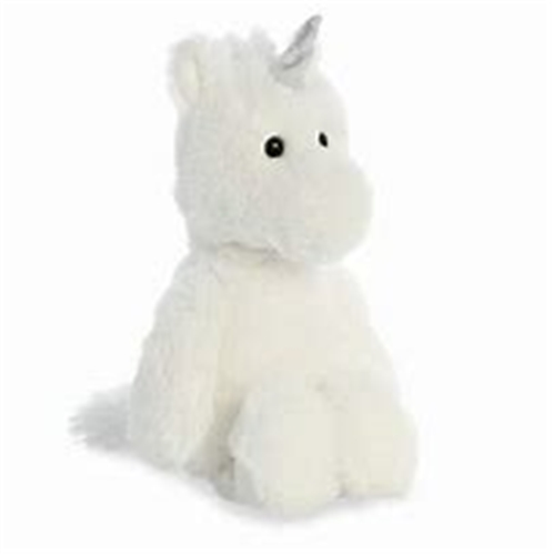 Cuddly Unicorn White 12""